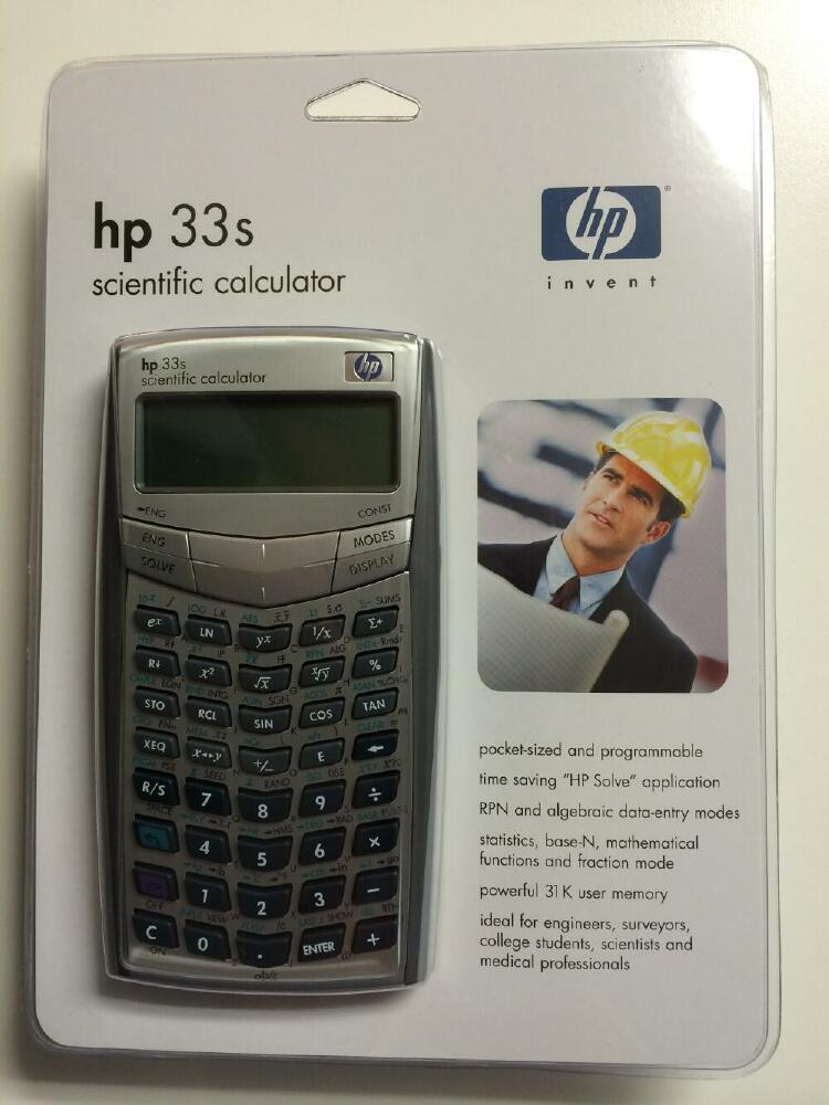 Samson Cables - HP 33S RPN Scientific Calculator Details
