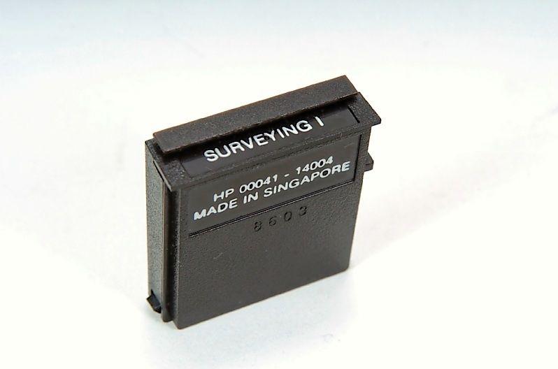 Samson Cables - Survey I Pac Module for HP-41 Series Details